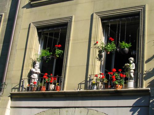 Fenêtre aux angelos